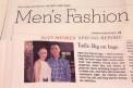 佟大为米兰时装周风头强劲 登上纽约时报国际版