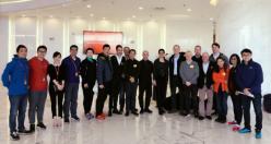 亚玛芬体育集团到访京东 双方将展开全面合作