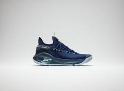 UA发布库里6代全新配色战靴