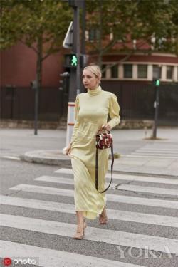 缎面材质,精致优雅法式风情的入门单品
