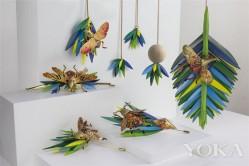 纸做的昆虫珠宝 这么栩栩如生?