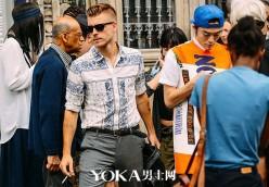 浪漫巴黎男人 夏天都怎么穿?