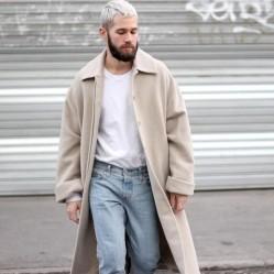 走路带风的长外套 看看潮人们都是怎么搭的