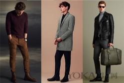 职场男士优雅装走起 衬衫修身裤子不能少