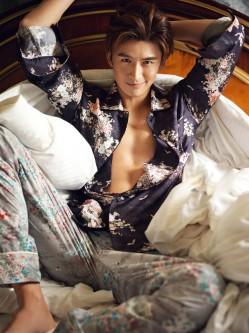 起不了床就穿睡衣去上班  16位潮人男星示范