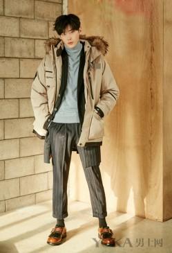 冬天照样穿九分裤 因为潮流个性男神们都在穿