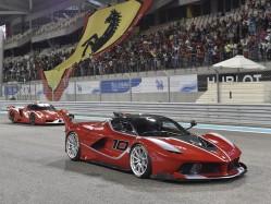 郭富城的心爱座驾 限量40台的法拉利FXX K