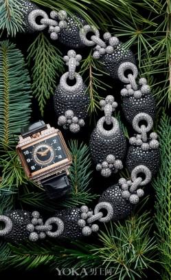 de Grisogono圣诞珠宝腕表大片 秘境花园