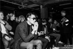 胡兵亮相2017年伦敦男装周 助阵TOPMAN秀