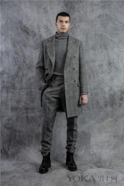 Ermanno Scervino2017秋冬男装系列  都会雅韵