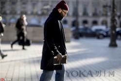 冬天是大衣党的天下 巴黎街头的潮人怎么搭?