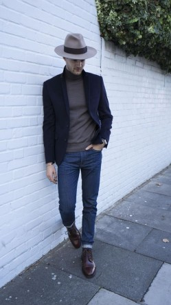 西装+牛仔裤的搭配公式 让你赚够回头率
