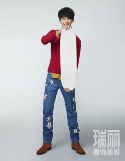 吴磊最新大片曝光  正能量少年诠释早春时尚