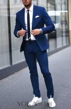 又到了西装+运动鞋的季节 穿上就能让你帅!