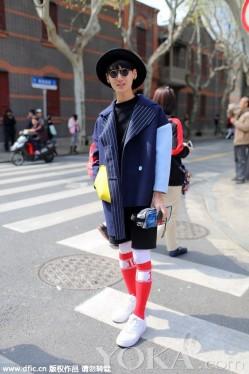 上海周街拍不输国际 潮人街拍精彩不断