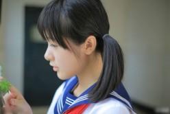 徐娇校服写真清纯可人 制服诱惑萌萌哒(3)