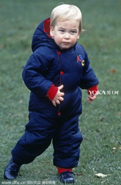 英国四位王子一岁照对比 看看谁最萌?(3)