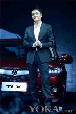 冯绍峰接棒刘德华 代言国际高端品牌豪车