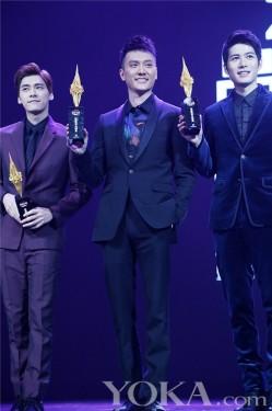 冯绍峰出席时尚盛典 获封绝对吸引力明星(3)