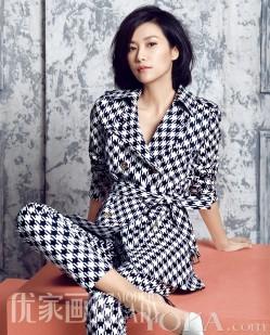 """徐静蕾登杂志封面霸气归来 """"有一个体""""走红(3)"""