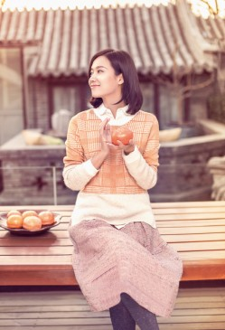 徐静蕾喜帖窗花笑靥迷人迎新春(3)