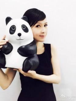 千只纸熊猫空降香港 明星个个都是Panda控(3)