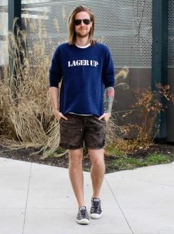 夏日比你想象的更加有趣 光是T恤+短裤就完胜(3)