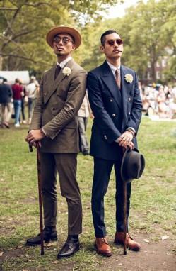 派对动物应有的样子 低调奢华的绅士正装穿搭