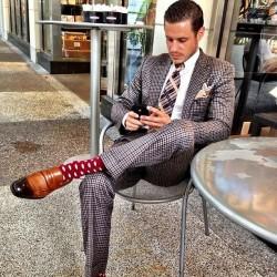 派对动物应有的样子 低调奢华的绅士正装穿搭(2)