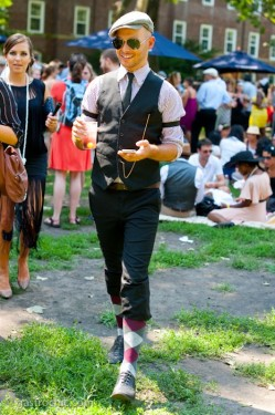 派对动物应有的样子 低调奢华的绅士正装穿搭(3)