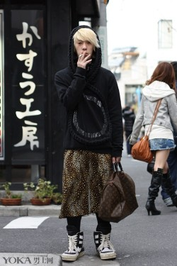 日式街拍的亮点太多 一定不能让我一个人瞎