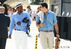浅蓝色的外套or衬衫 给予你最宽广的胸襟