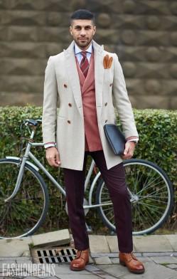 西装式风衣一件就足以时髦过冬(2)
