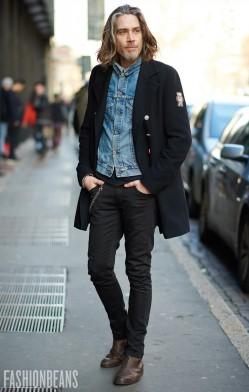 西装式风衣一件就足以时髦过冬(3)