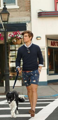 夏日短暂 换上短裤让你的膝盖晒晒太阳吧