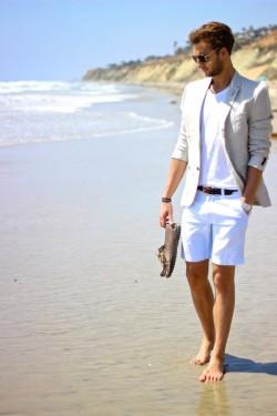 夏日短暂 换上短裤让你的膝盖晒晒太阳吧(3)