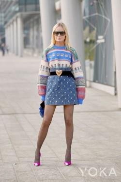 衣橱中总少一条美裙?减龄又时髦的牛仔裙上线