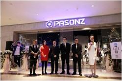 PASONZ百尚首家旗舰店开业 演绎霸气时尚