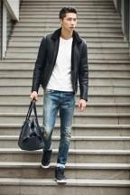 CK Jeans冬季最新街拍 演绎冬日性感