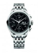 名士表克里顿系列黑色计时腕表