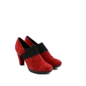 女士枣红色休闲便鞋
