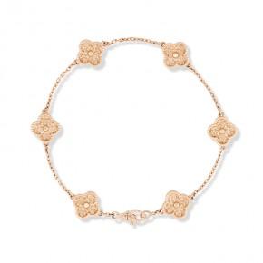 Van Cleef & Arpels Sweet Alhambra手链,6图案