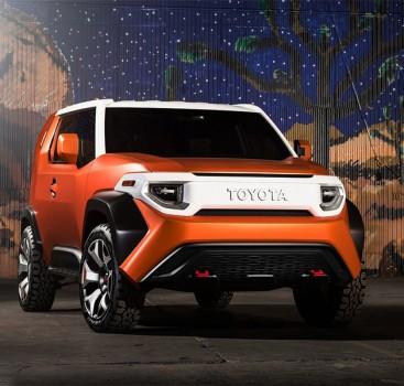 这简直就是一个移动的家 丰田FT-4X Concept