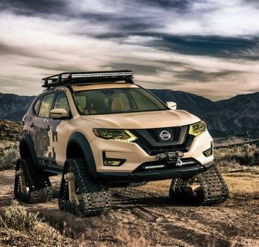陆地小坦克 Rogue Trail Warrior Project