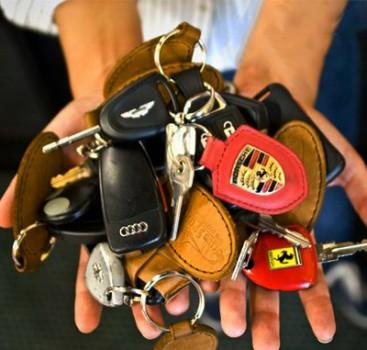 你也许见过这些豪车 但肯定没见过这些车的钥匙