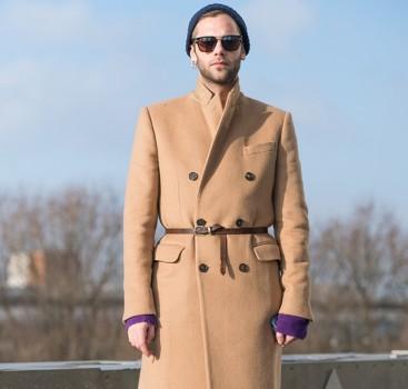 大衣+西裤的魅力 保暖优雅至少17天造型不重样!