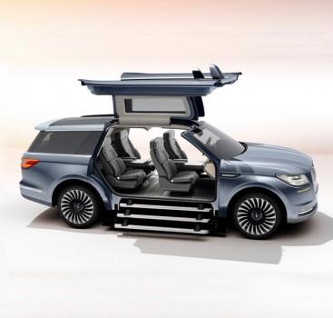 挑战你的SUV认知极限 鸥翼门版林肯领航员