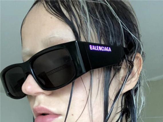 BALENCIAGA LED太阳镜
