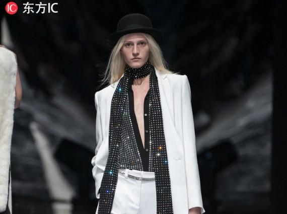 2019春夏巴黎高定周Azzaro Couture