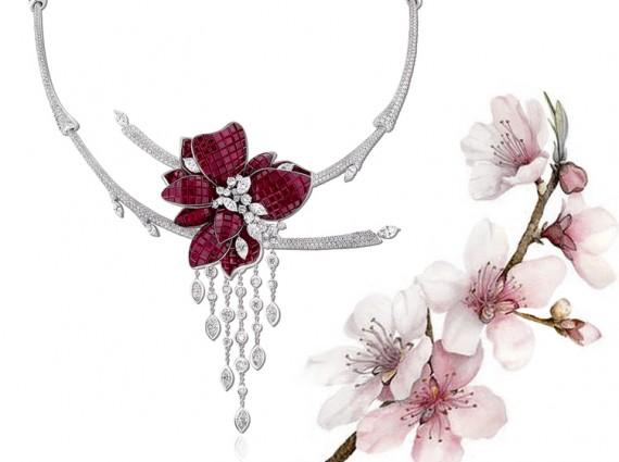 春花绽放 这些高珠凝固了盛开的繁花